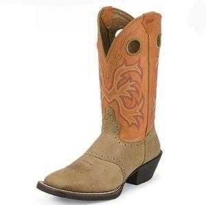 * Justin 12 D Dakota Sunrise Dusty Mens Boots 2522